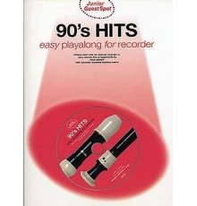 J.90?s Hits Easy Playalong Recorder   CD