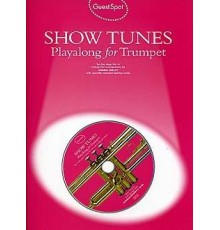 Show Tunes Playalong Trumpet   CD