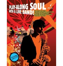 Play-Along Soul Live Band! Alto Sax   CD