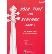 Solo Time For Strings/ Cello