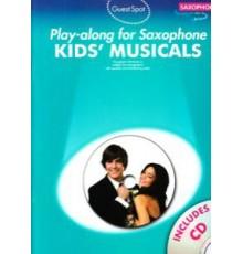 Play-Along Kids? Musicals   CD/ Sax