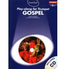 Play-Along for Trumpet Gospel   CD