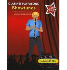 Playalong Showtunes Clarinet   2CD