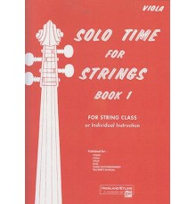 Solo Time For Strings/ Viola