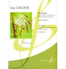 28 Etudes Saxophone sur Modes Messiaen