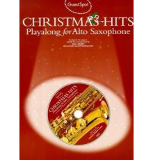 Christmas Hits Playalong Alto Sax   CD