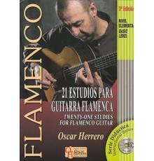 21 Estudios para Guitarra Flamenca   CD