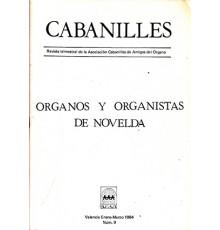 Organos y Organistas Novelda.Revista Nº9