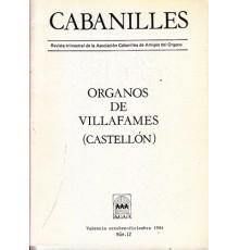 Organo de Villafamés. Revista Nº 12