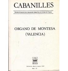 Organo de Montesa. Revista Nº 22