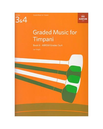 Graded Music for Timpani Book II Grades