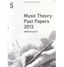 Music Theory Past Papers 2013 Grade 5
