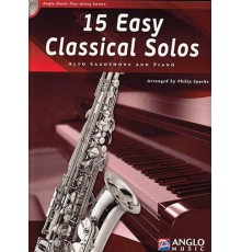 15 Easy Classical Solos   CD Sax Alt