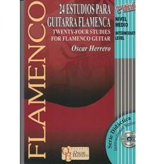 24 Estudios para Guitarra Flamenca   CD