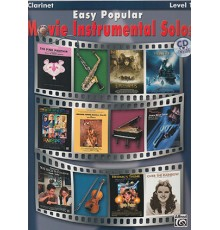 Easy Popular Movie Instr.Solos Clarinet