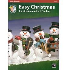 Easy Christmas Instru. Solos Tenor Sax