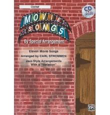 Movie Songs Clarinet   CD