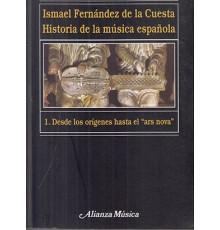 Historia de la Música Española 1. Desde