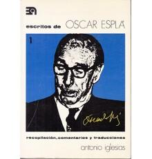 Escritos de Oscar Esplá 1