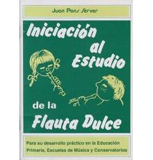 Iniciación al Estudio de la Flauta Dulce