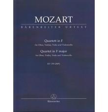 Quartett in F Major KV 370/ Study Score