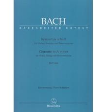 Concerto in A minor BWV 1041/ Red.Pno.