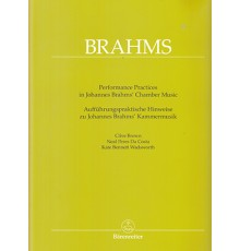 Performance Practices in Johannes Brahms