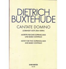Cantate Domino. Motet for Two Sopranos,