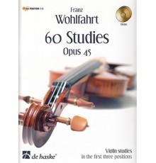 60 Studies Opus 45   CD