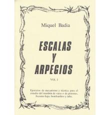 Escalas y Arpegios Vol. I