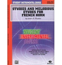 Studies and Melodious Horn. Level Two