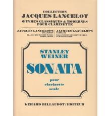 Sonata Op. 34 pour Clarinette Seul
