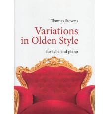 Variations in Olden Style/ Red. Pno