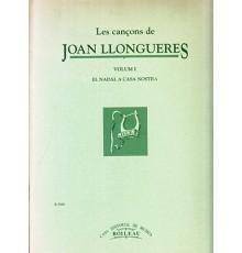 Les Cançons de Joan Llongueres Vol. I