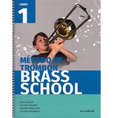Método de Trombón Brass School Vol. 1
