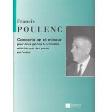 Concerto en Ré Mineur/Red.2Pno.