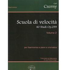 Scuola Velocita 40 Studi Op.299 Vol. 2