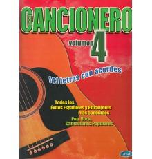 Cancionero Vol.4, 141 Letras con Acordes