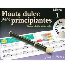 Flauta Dulce para Principiantes Libro 1