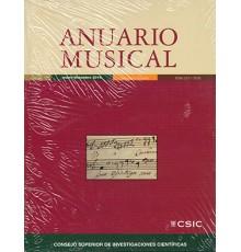 Anuario Musical 2014 Vol. 69