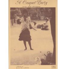 A Croquet Party
