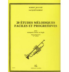 20 Etudes Mélodiques Faciles & Progresiv