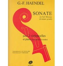 Sonate en Sol minor/ Red.Pno