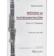 Método de Instrumentación IV: Clarinete