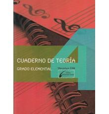 Cuaderno de Teoría Vol.4 Grado Elemental