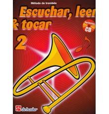 Escuchar, Leer & Tocar. Trombón BC 2  CD
