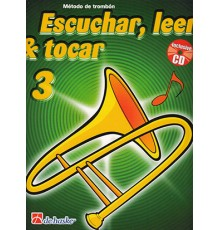 Escuchar, Leer & Tocar. Trombón BC 3  CD