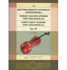 Forty Easy Studies for Violoncello Op.70