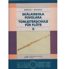 Tonleiterschule für Flöte Vol. II Skalai