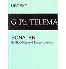 Sonaten für Blockflöte und Basso Continu